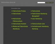 Bild Webseite Rieck Peter Fahrschule Hamburg