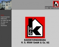 Bild Bauunternehmung H. G. Krah GmbH & Co. KG