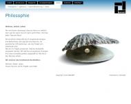 Website BAUART Verwaltung Gesellschaft für funktionales Bauen
