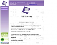 Bild Fabian Goltz EDV Beratung und Service