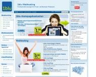 Bild Webseite 1blu Berlin