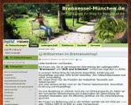 Bild Webseite Brennessel, Inh. Claudia Hölzer München