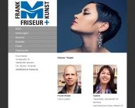 Bild Webseite Frank M. Friseur Köln