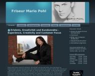 Website Friseurgeschäft Mario Pohl