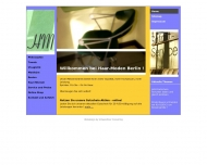 Bild Webseite Haar-Moden Berlin