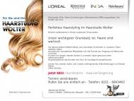 Bild Webseite Wolter Gudrun Haarstudio Köln