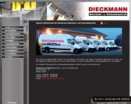 Bild Webseite Dieckmann Betonbohr u. Schneidetechnik Spelle