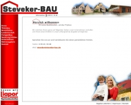 Website Steveker Bau