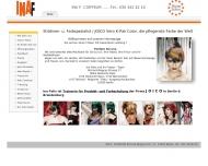 Bild Webseite Ina F. Coiffeur Berlin