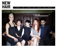 Bild Webseite NEW HAIR Bremen