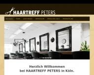 Bild Webseite Peters Birgit Friseursalon Köln