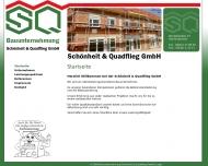 Bild Webseite Schönheit & Quadflieg Aachen