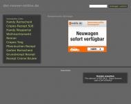 Bild Webseite der Renner Hairlounge Jürgen Renner Heilbronn