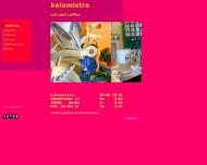 Bild Webseite Kalamistra Friseur Cafe Berlin