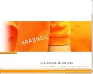 Website HAARHEILPRAXIS ZOLLERNALB