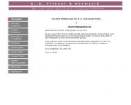 Bild Webseite Friseur A. S. Stiefbold Nürnberg