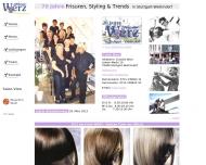 Bild Webseite Werz Friseursalon Stuttgart
