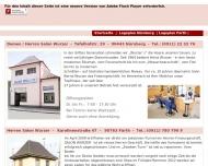 Bild Webseite Wurzer Bernd Damen- und Herrenfriseursalon Nürnberg