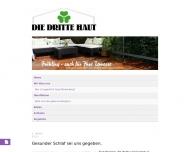 Bild Webseite Die Dritte Haut Köln