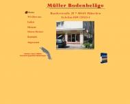 Bild Webseite Willkommen bei: Müller Bodenbeläge - München München