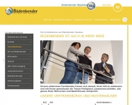 Website Büdenbender Hausbau