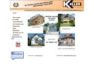 Website Keller Baugesellschaft