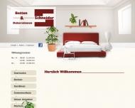 Bild Betten / Gardinen Schneider GmbH Raumausstattung