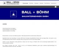 Website Ball & Böhm