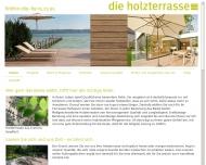 Bild Webseite die holzterrasse München