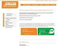 Schaab GmbH Co. KG - Ihr Partner in Sachen Bau Startseite