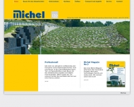 Website Michel Bau