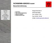 Website Adam Schwinn Karl Wilhelm Groß