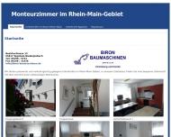 Website Biron Baumaschine