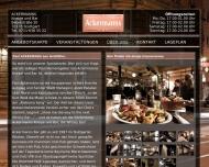 Website Ackermanns Kneipe & Bar , Nowak Herbert