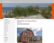 Bild Webseite  Borkum
