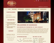 """Bild Webseite """"Haxenhaus zum Rheingarten"""" Köln"""