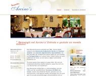 Bild Webseite Arcino's Ristorante Spandau Berlin