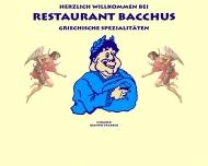 Bild Webseite Psarros Joannis, Restaurant Bacchus Hamburg