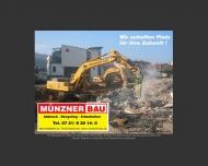 Bild Münzner-Bau GmbH Abbruch-Recycling-Erdarbeiten