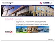 Bild Wackerbau GmbH & Co. KG Bauunternehmen