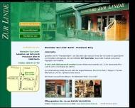 Bild Webseite Bierstube Zur Linde Dipperz