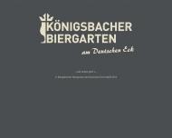 K?nigsbacher Biergarten am Deutschen Eck - BUGA Koblenz 2011 - Wir sind mittendrin