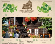 Bild Webseite Blockhaus Nikolskoe Gaststättenbetriebs Berlin