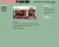 Bild Webseite Blauer König Inh. A. Karim Köln