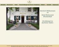 Bild Webseite Brunnenhof Aachen