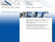 Website HSG - Hochbau- und Sanierungs