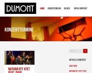Bild Webseite Dumont Aachen