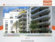 Website Hama Baubetriebe