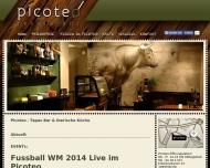 Bild Webseite Picoteo Restaurant - Tapas Bar Berlin