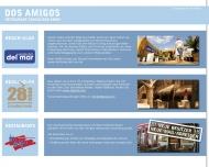 Bild Webseite Restaurant Dos Amigos Mexican Hamburg